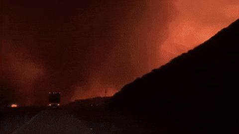 Путь через лесные пожары