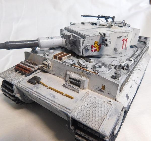 Panzerkampfwagen VI «Tiger» Ausf E Моделизм, Стендовый моделизм, Танки, Tiger i, Длиннопост