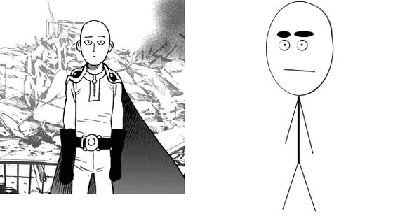 """Долго думал, кого мне напоминает этот ваш Сайтама, и почему он так """"прижился"""" на Пикабу"""