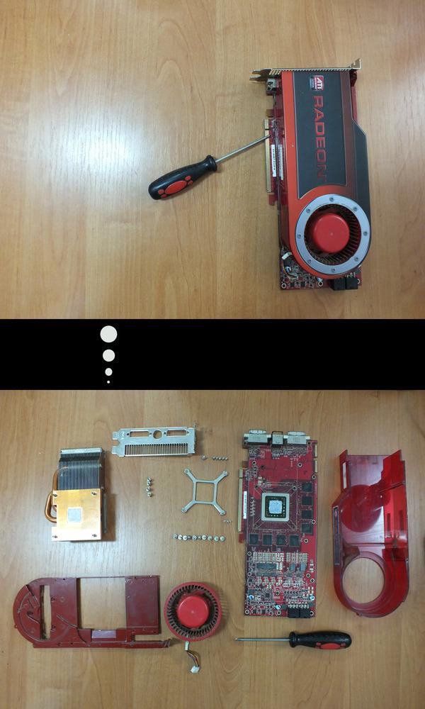 Разборки на Pikabu Разборки, AMD, Видеокарта