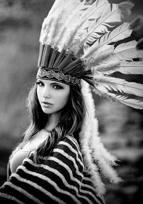 индейские девушки фото
