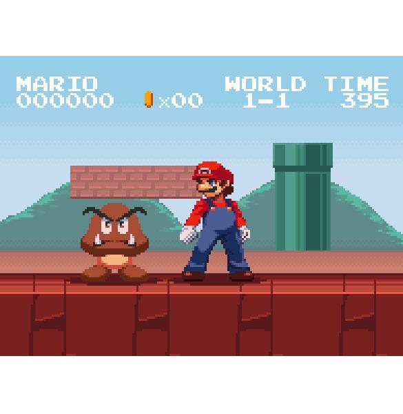 Никогда не злите Марио