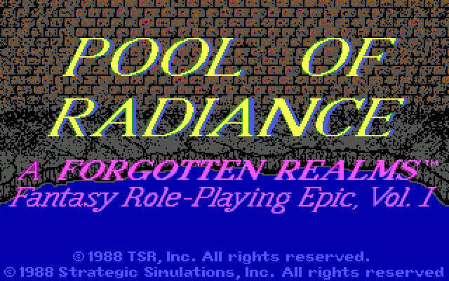 Pool of Radiance. Часть 1. 1988, Прохождение, Rpg, Игры для DOS, Ретро-Игры, Компьютерные игры, Forgotten Realms, Длиннопост