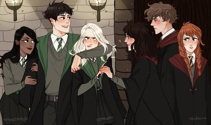 Genderbender Гарри Поттер, Rule 64, Правило 63
