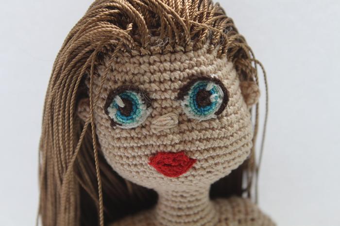 Кукла Рукоделие, Вязаные игрушки, Вязание крючком, Кукла, Рукоделие без процесса, Длиннопост