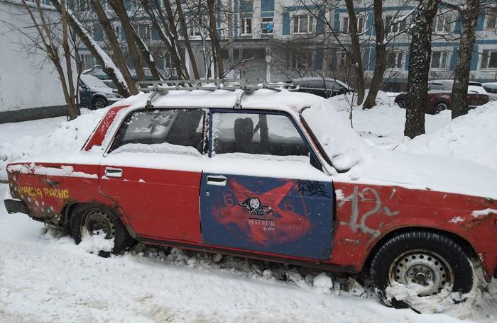МатрёшCAR Автомобильная классика, Матрешка, Прикол, Москва
