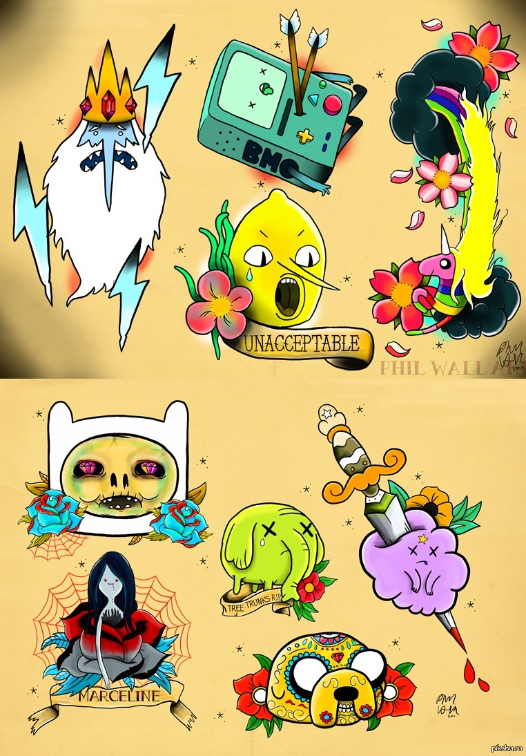 Attractive Adventure Time Wall Art Illustration - All About Wallart ...