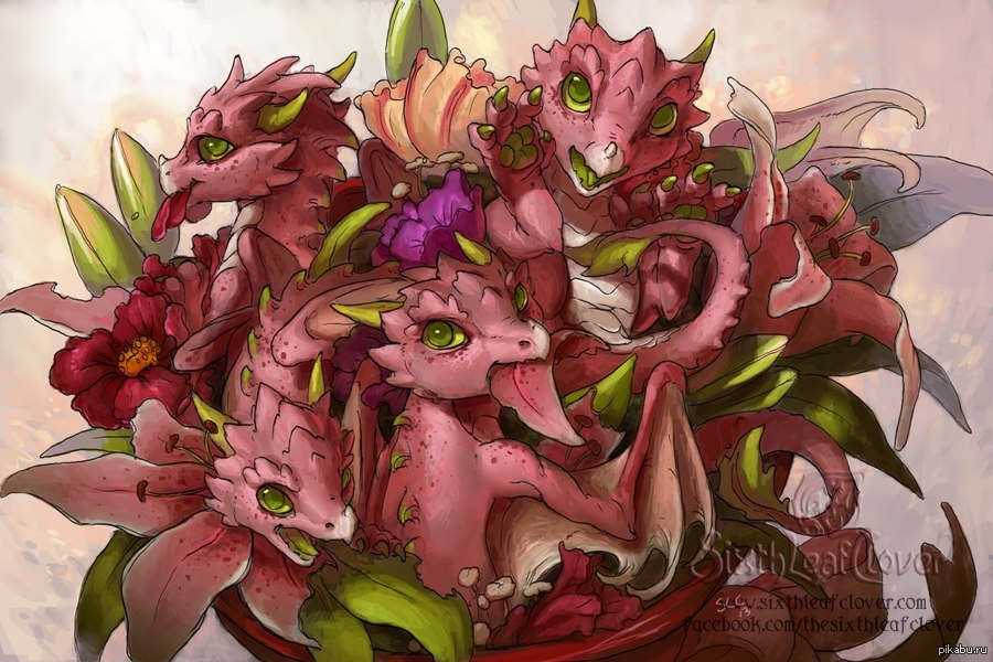 фото 8 марта с драконами поздравление