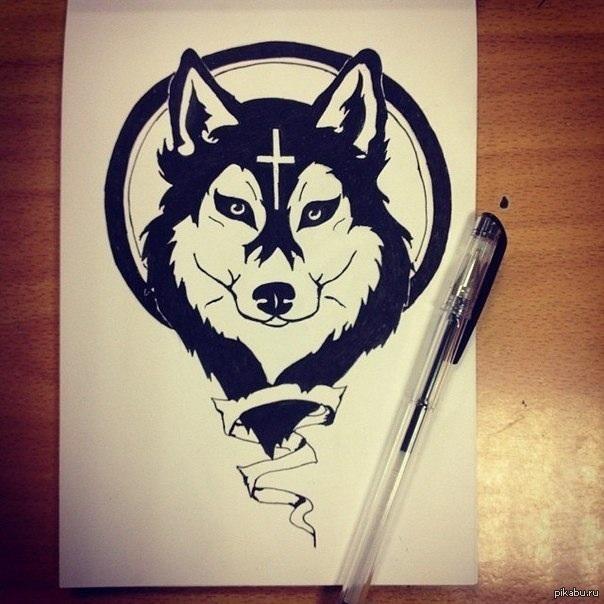 Чёрные рисунки для срисовки» користувача