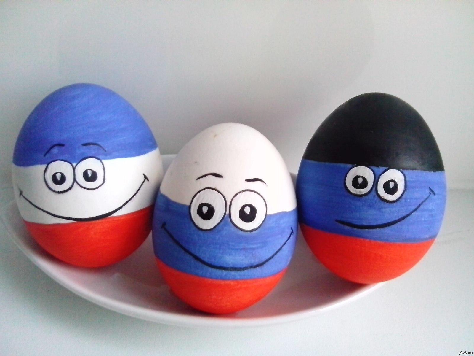 прикольные картинки покраски яиц позже чем