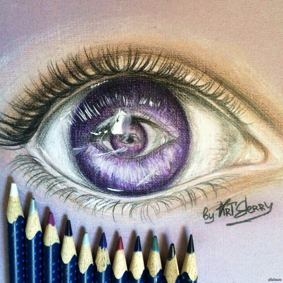 Картинки цветными карандашами прикольные, открытка скрапбукинг открытка