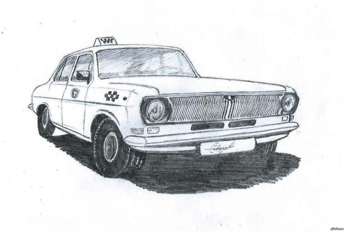 девушка раскраска советские автомобили вам надоели обычные
