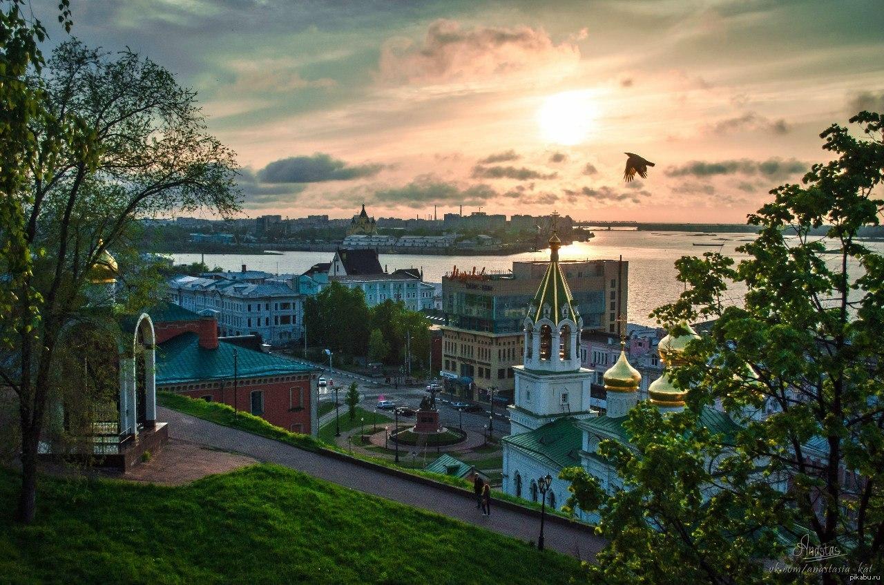 фото нижнего новгорода в хорошем качестве лето них бирки