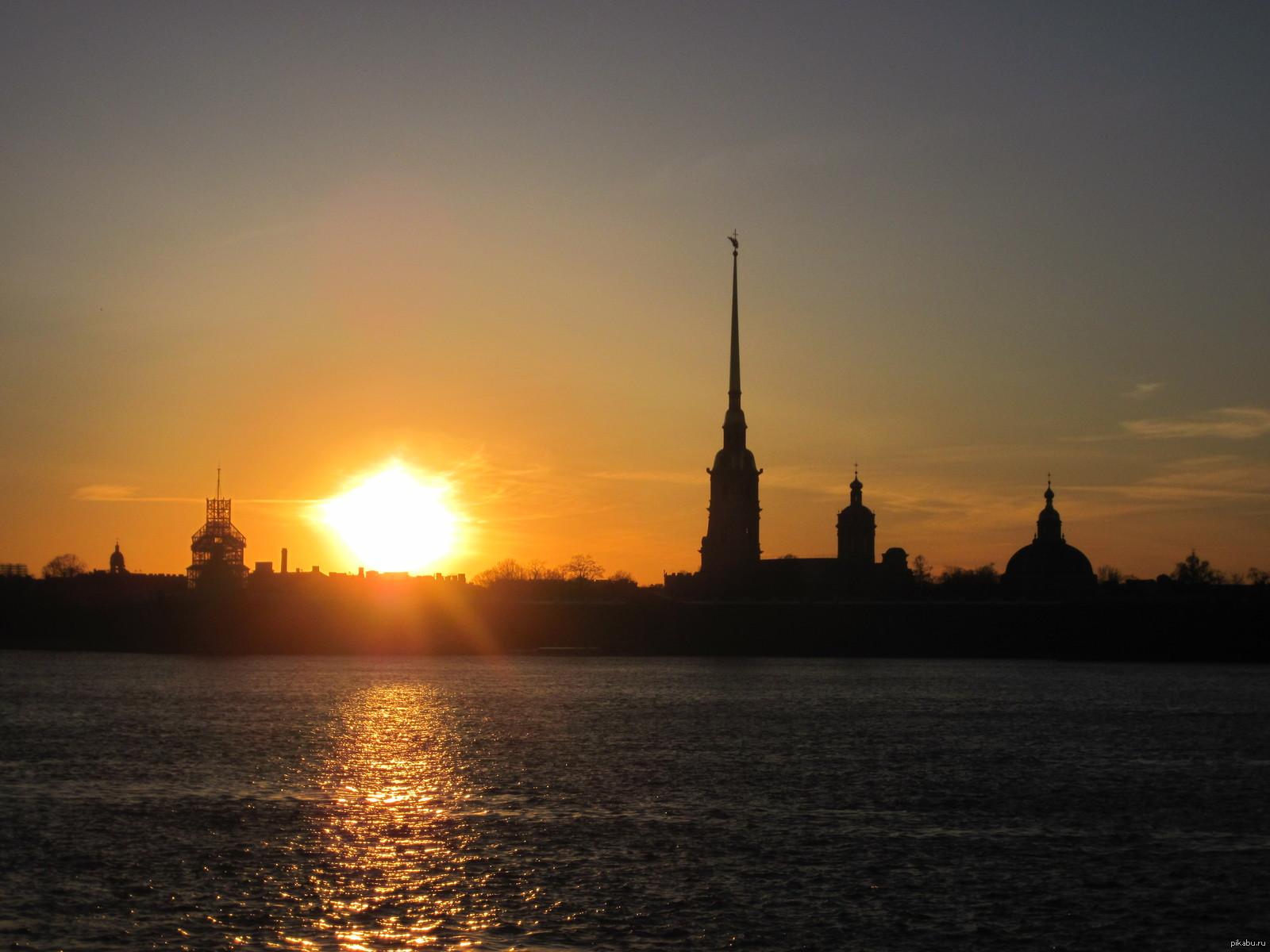 дорисовываем картинки санкт петербурга в закате вижу