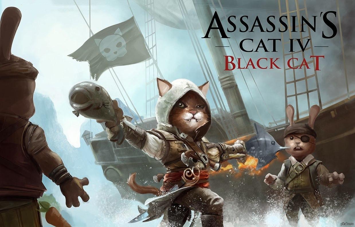 Картинки котиков ассасинов