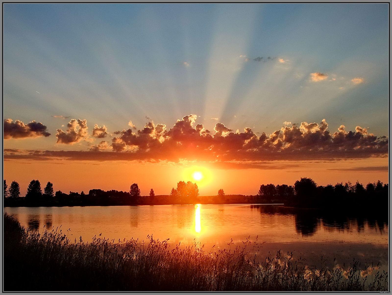 Картинки с добрым утром рассвет