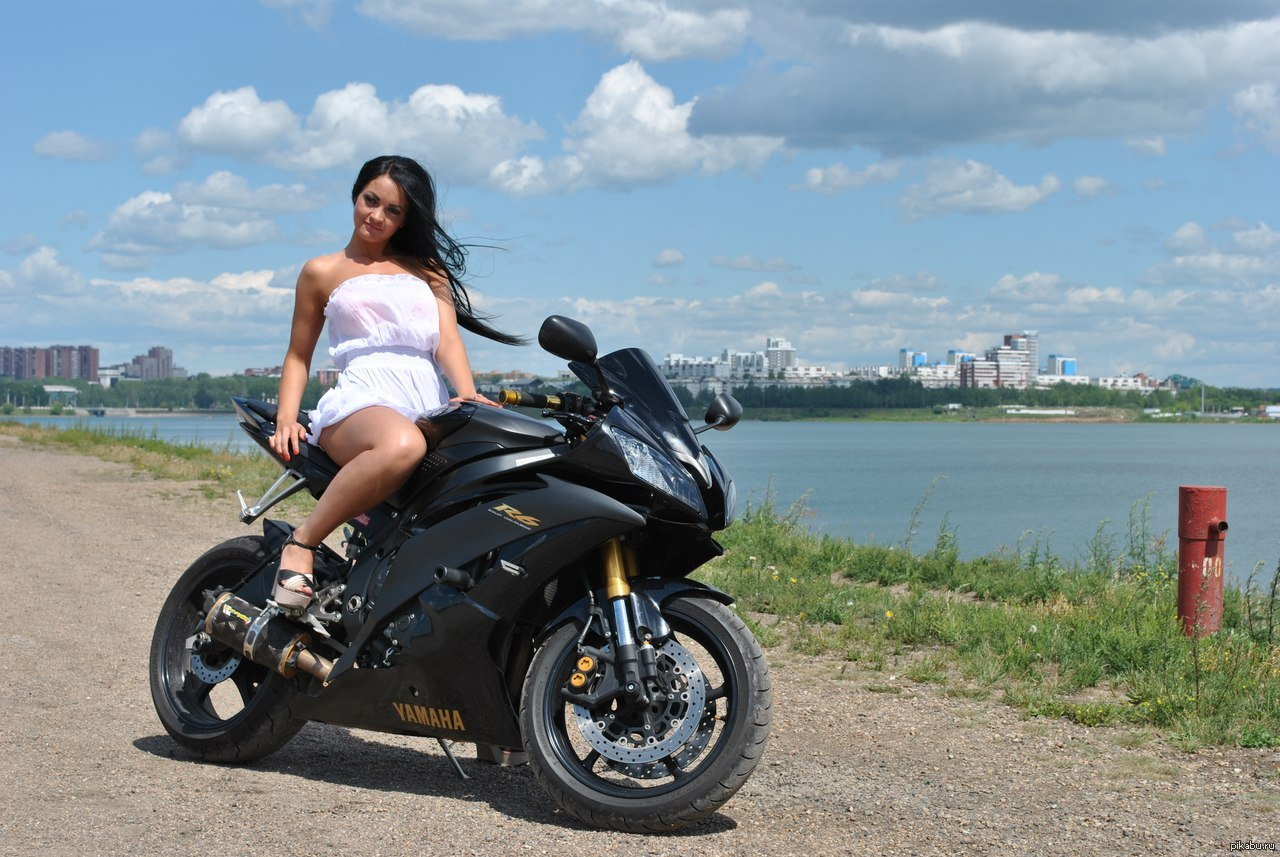 Девушка имотоцикл эрофото фото 7-549