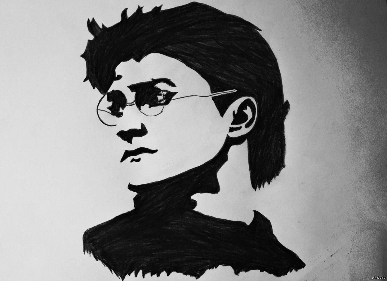 картинки гарри поттер рисунки