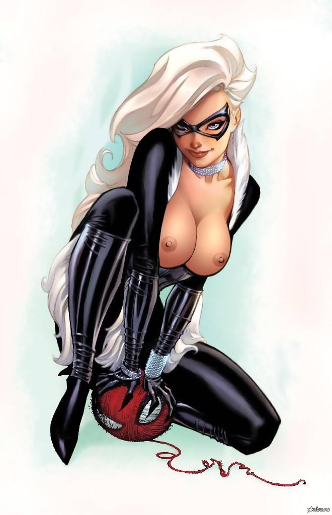 spiderman black cat costume - 660×1024