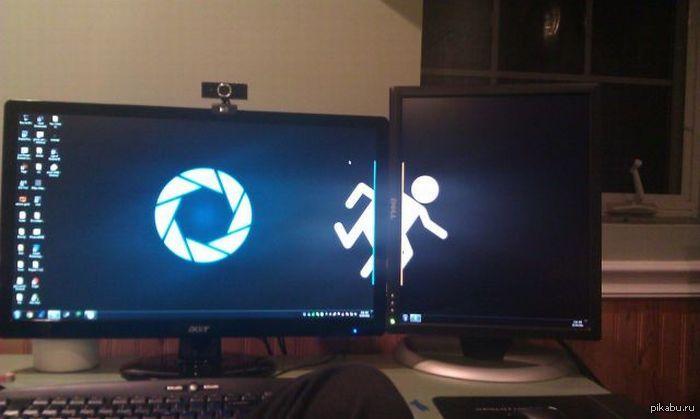 картинки на рабочий стол на 2 монитора