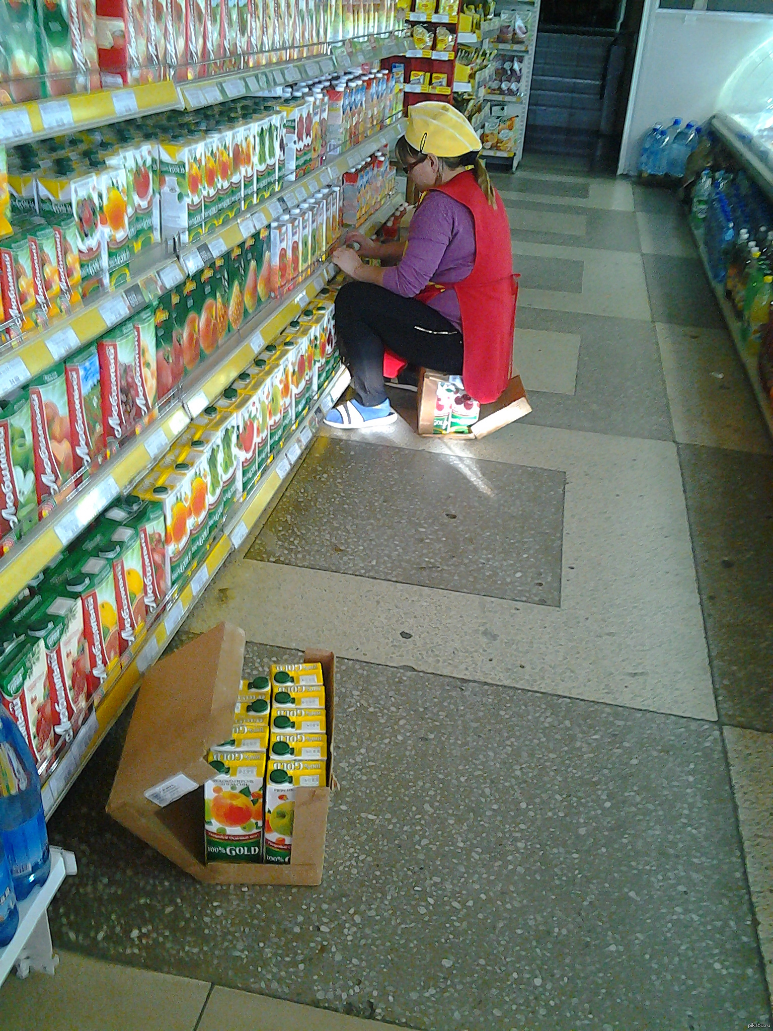Красивой, смешные картинки про супермаркет