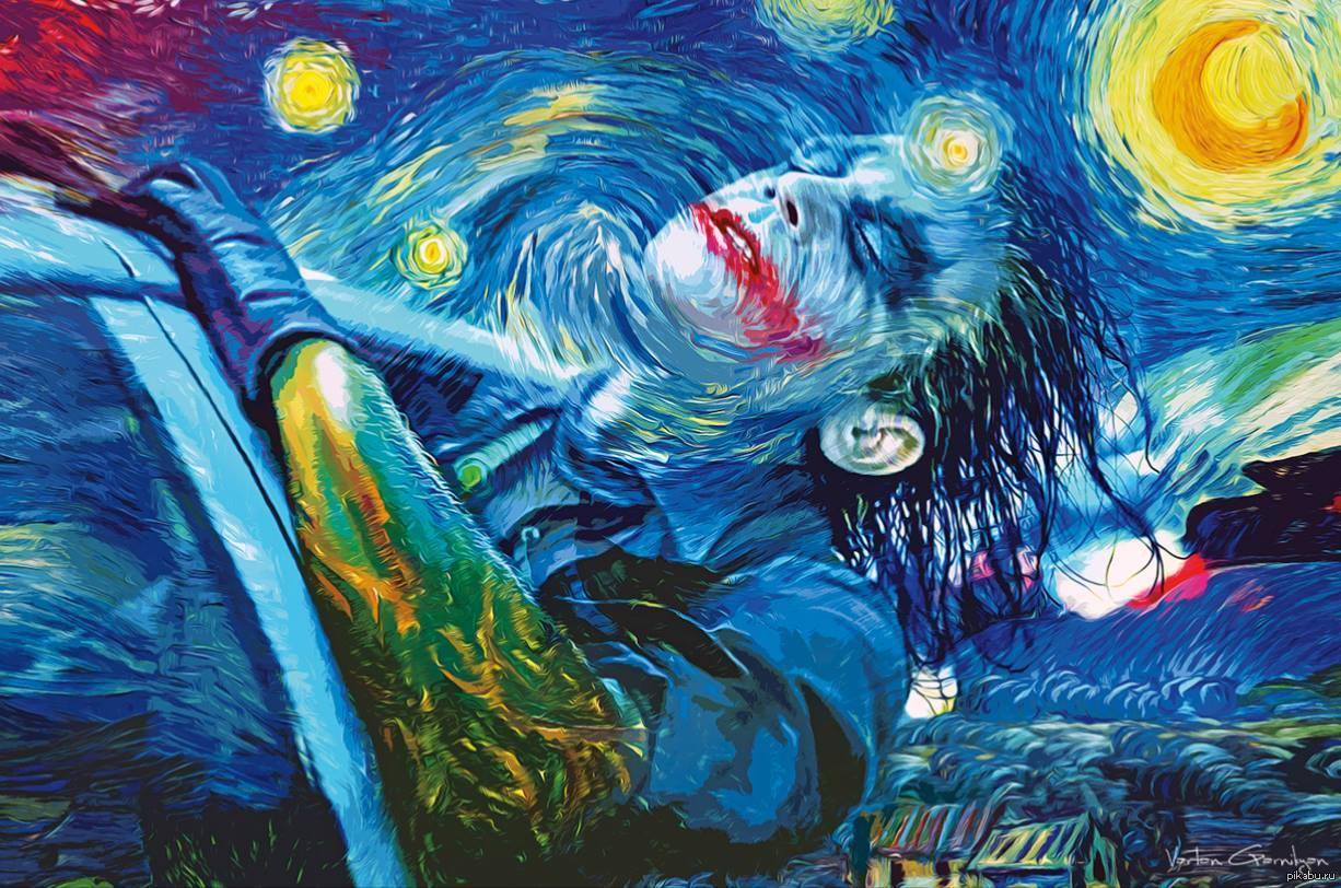 the use of visual imagery by vincent van gogh to illustrate the four visual cues in the painting the Van gogh´s choice of color in starry night has been much debated, particularly the dominance of yellow in this and other late works some believe van gogh may have been suffering from lead poisoning or a type of brain disease and that this explains his strange use of color in later paintings.