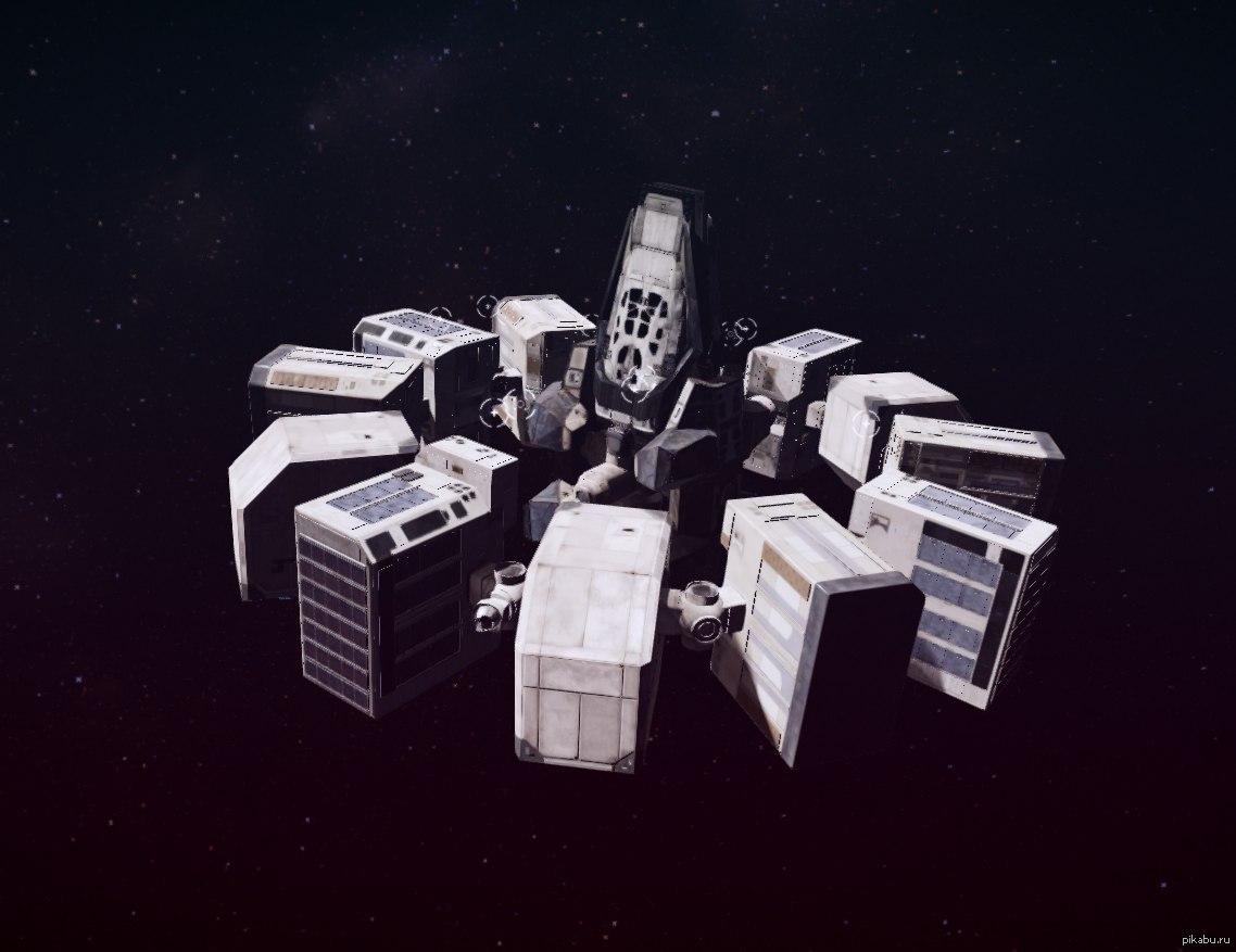 interstellar ranger spacecraft design - HD1138×877