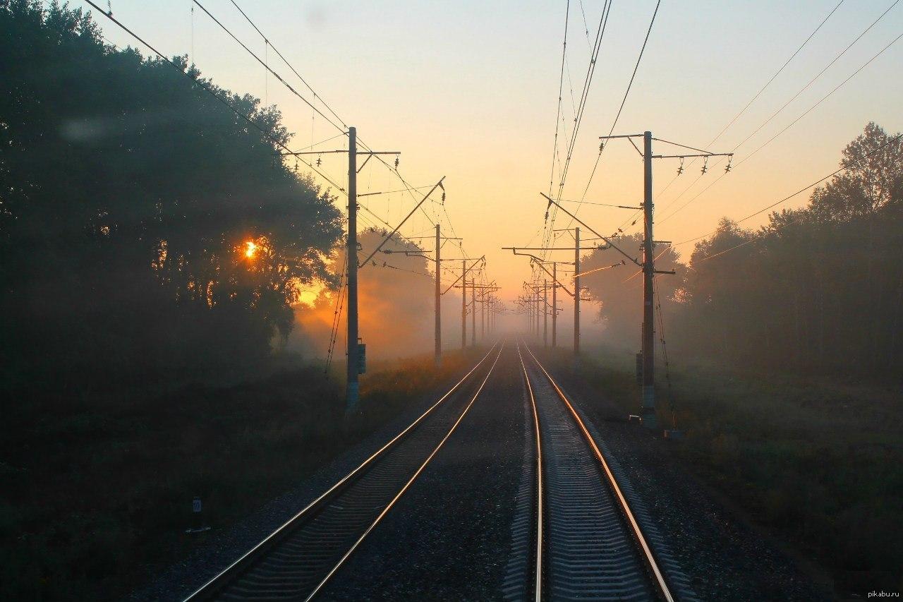 картинка утром с поезда горного серпантина хорошо