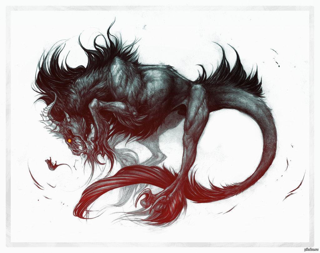 Демоны звери картинки
