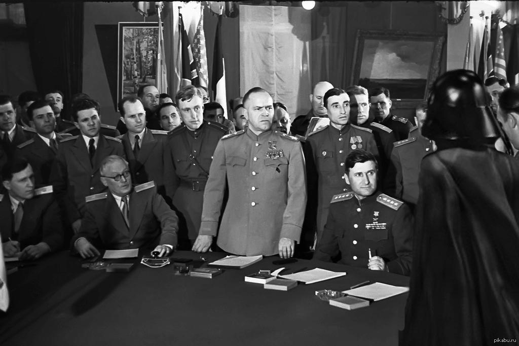 Акт подписания капитуляции Германии фото
