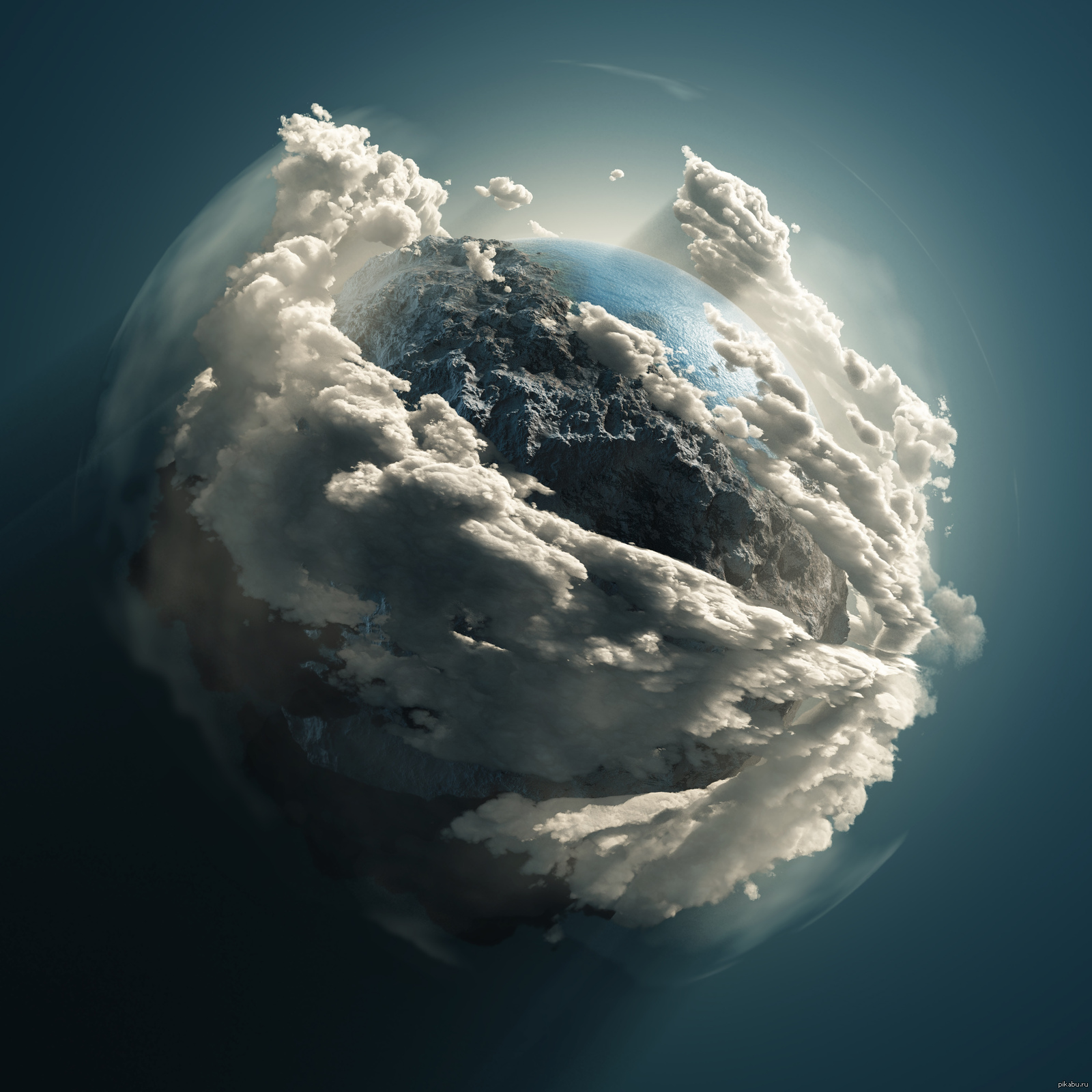 earth going round - 1000×1000