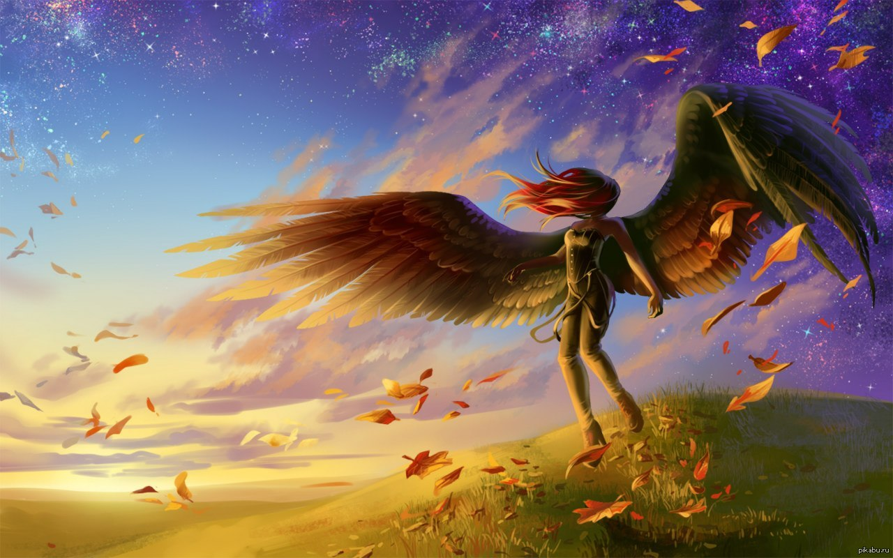 Летающие ангелы картинки