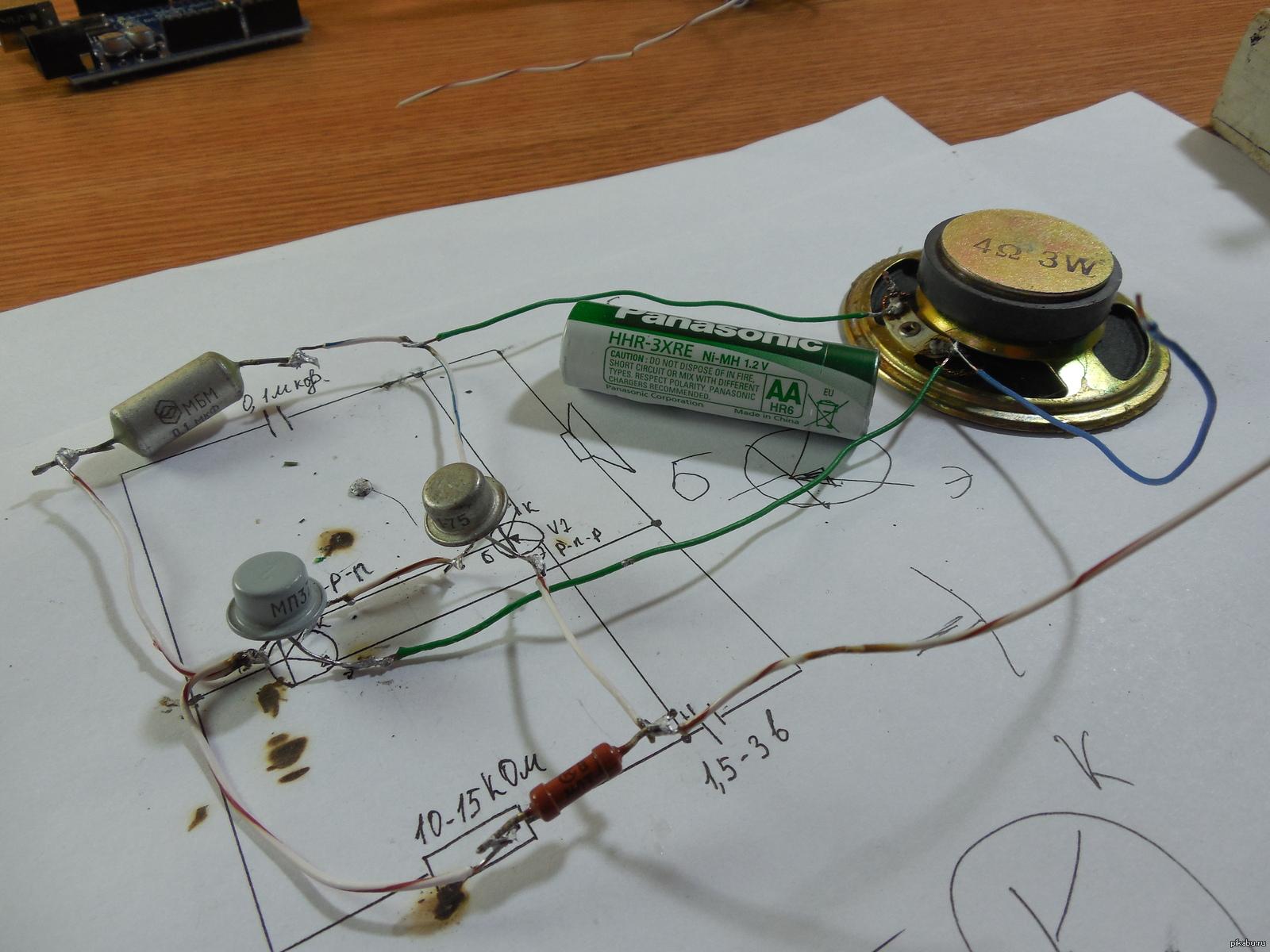 Фото схемы радиолюбителей