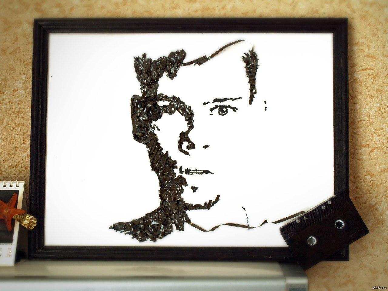 Портрет своими руками в подарок фото 47