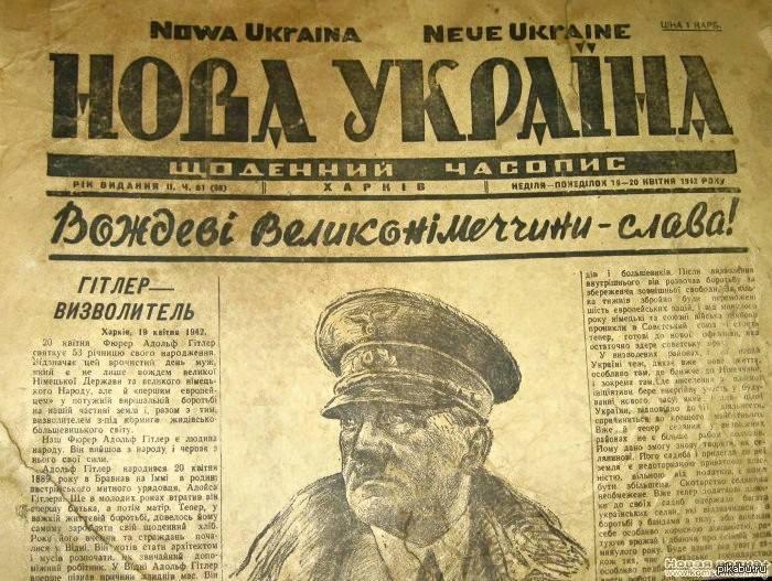 Азаров отреагировал на предложение Парубия не забывать «вклад» Гитлера в развитие демократии