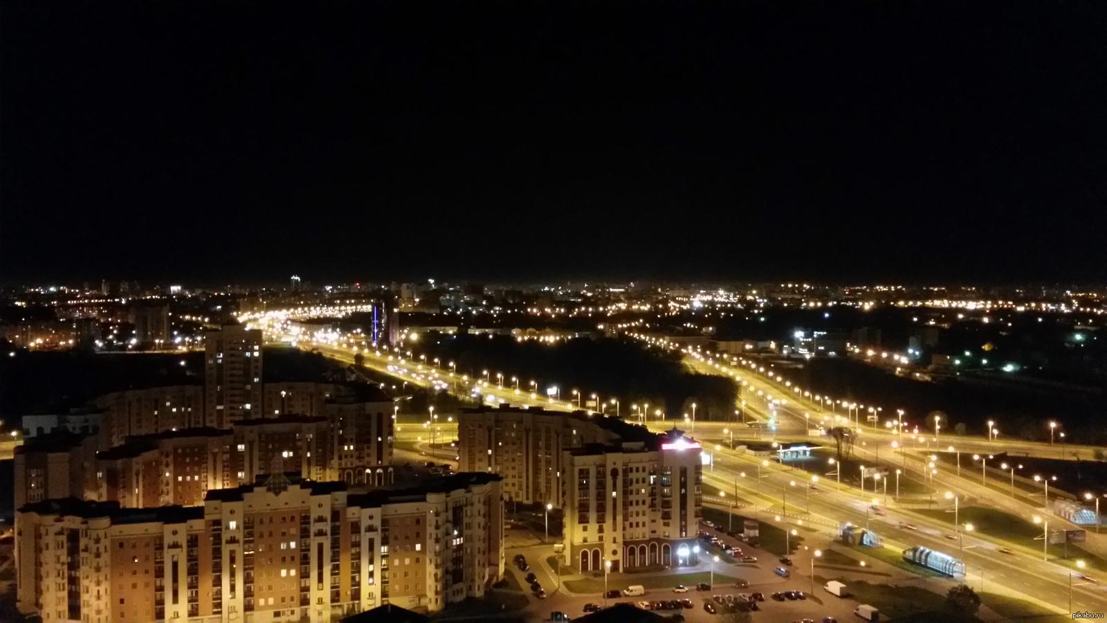 тут-то юному фото с крыши на ночной город белорусский обладательница