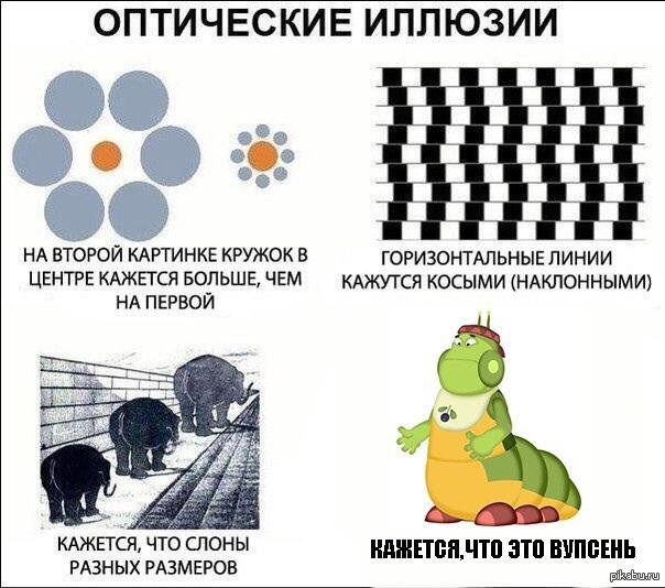 Картинки обман зрения с надписями, гороскоп