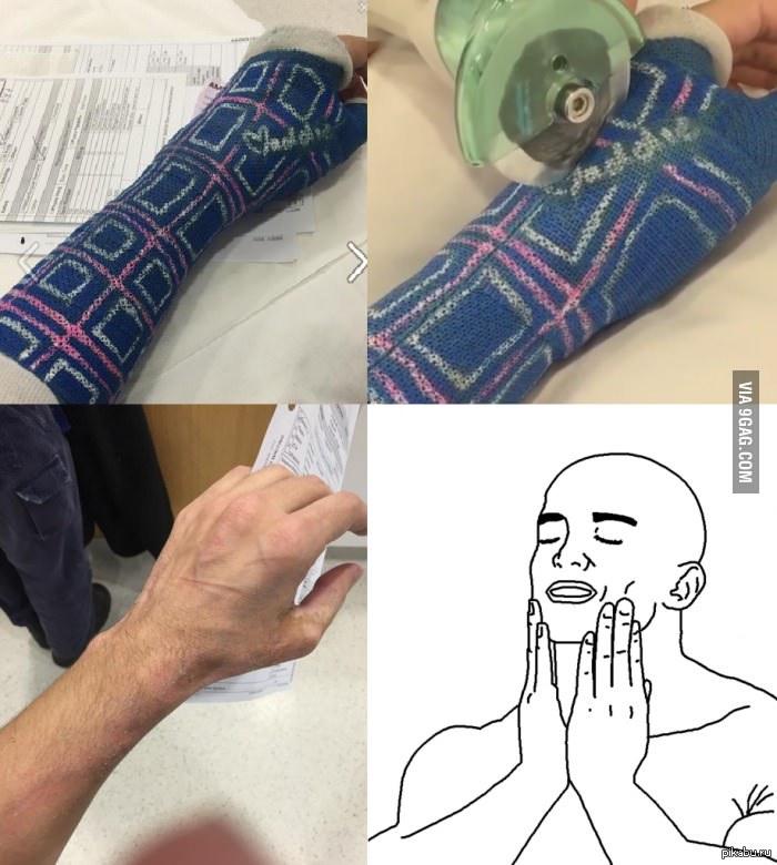 Мощная волосатая рука