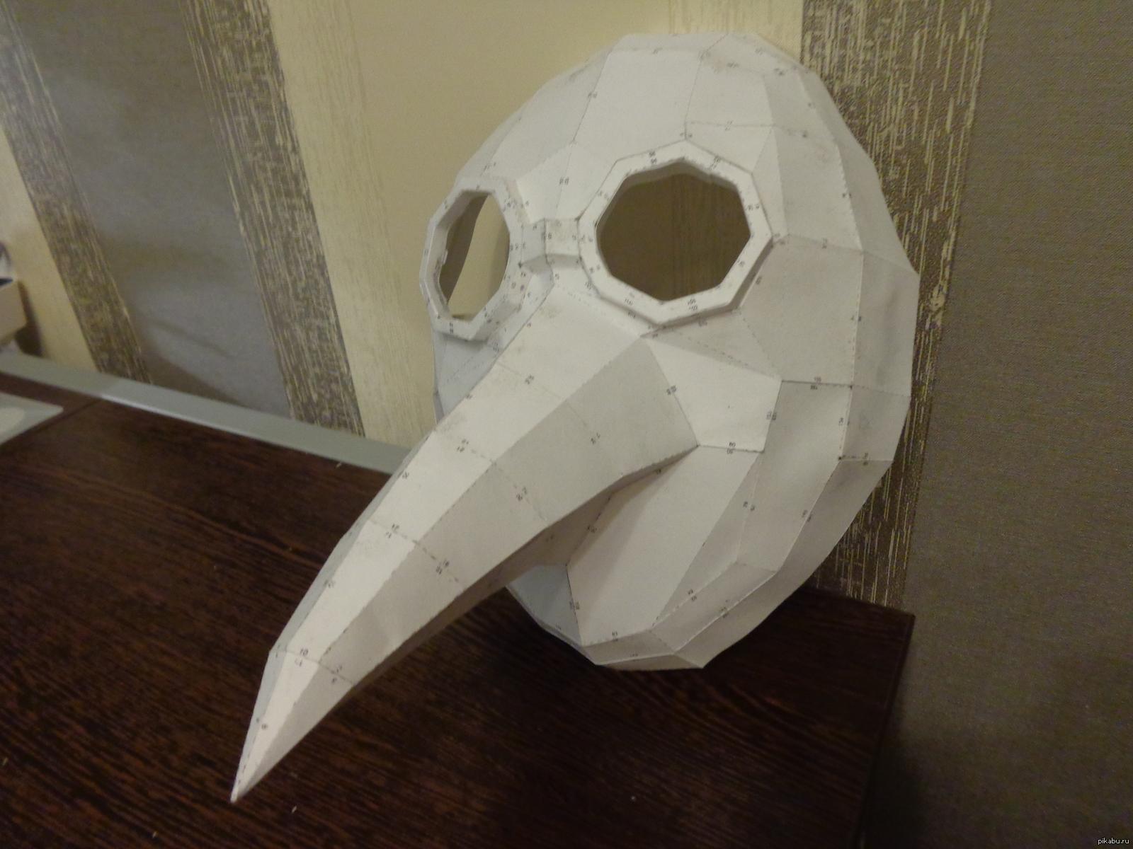 как из бумаги сделать маску фото