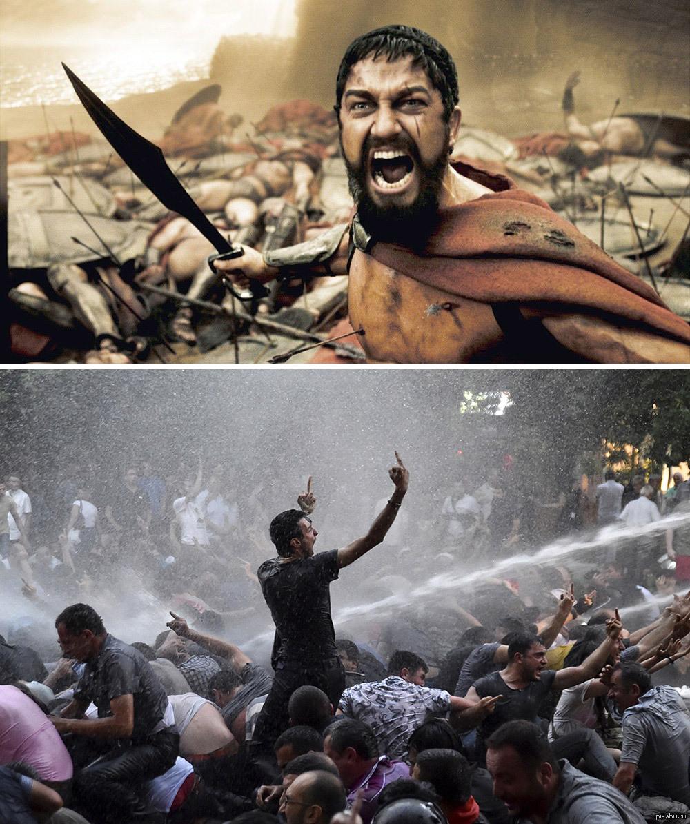 Отличном дне, картинки спартанцев приколы