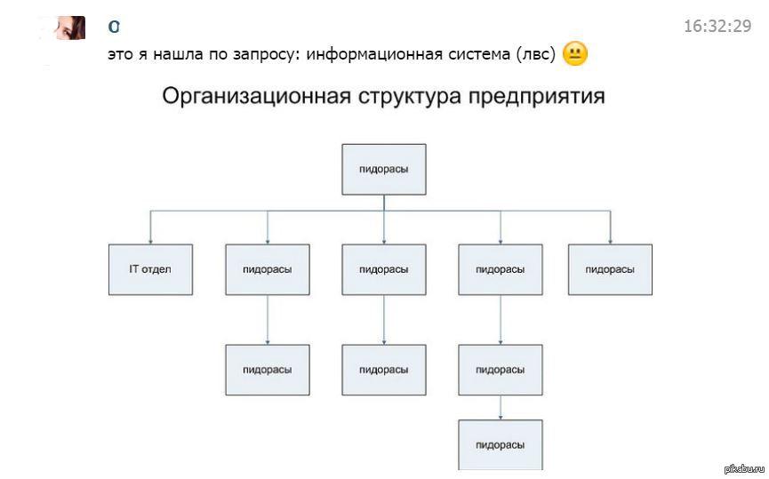Информационная структура  Девушка пишет отчет по практике Кажется она была не