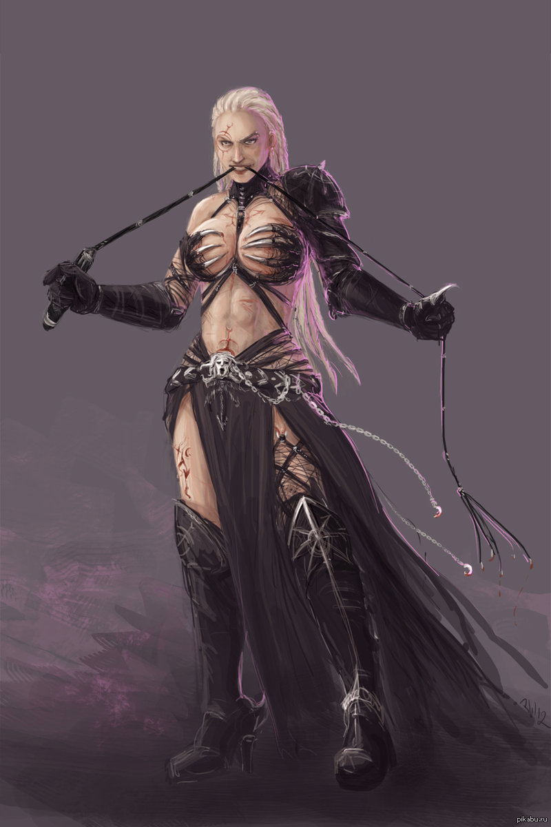 Concept Art Warhammer 40k Black Crusade Character Asha Cultist Of