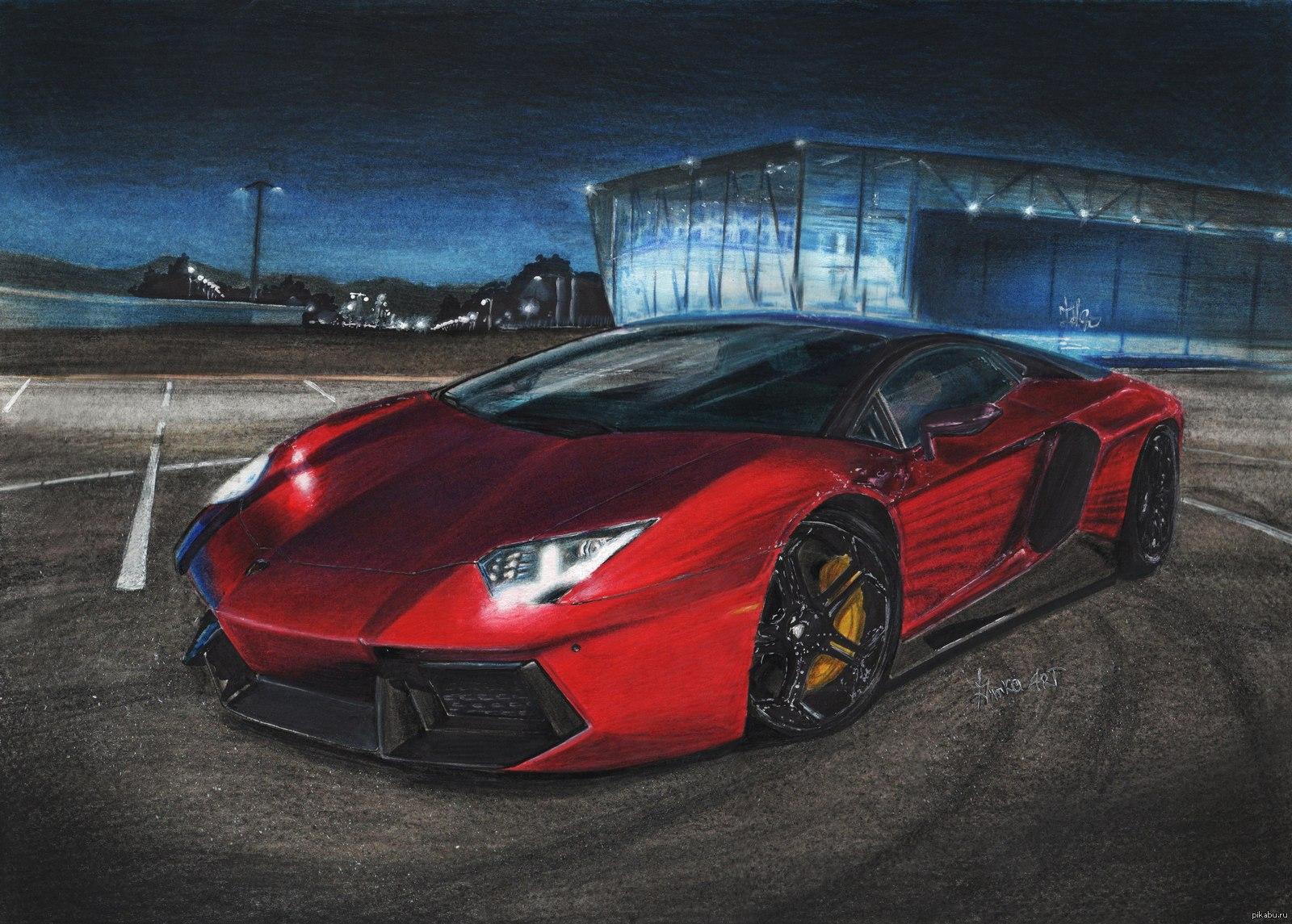 картинки машины которые нарисовали обязан