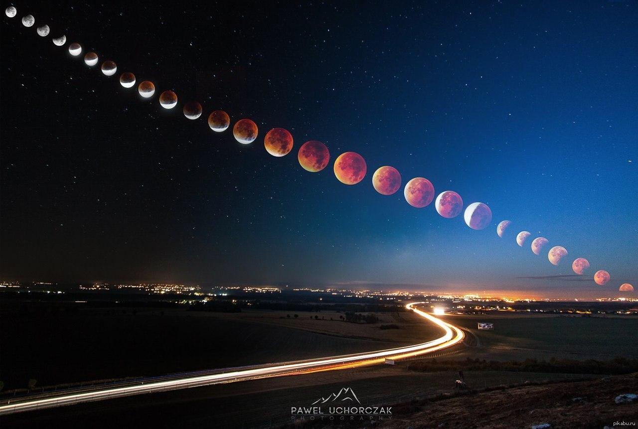 лунное затмение сегодня фото обычно россию