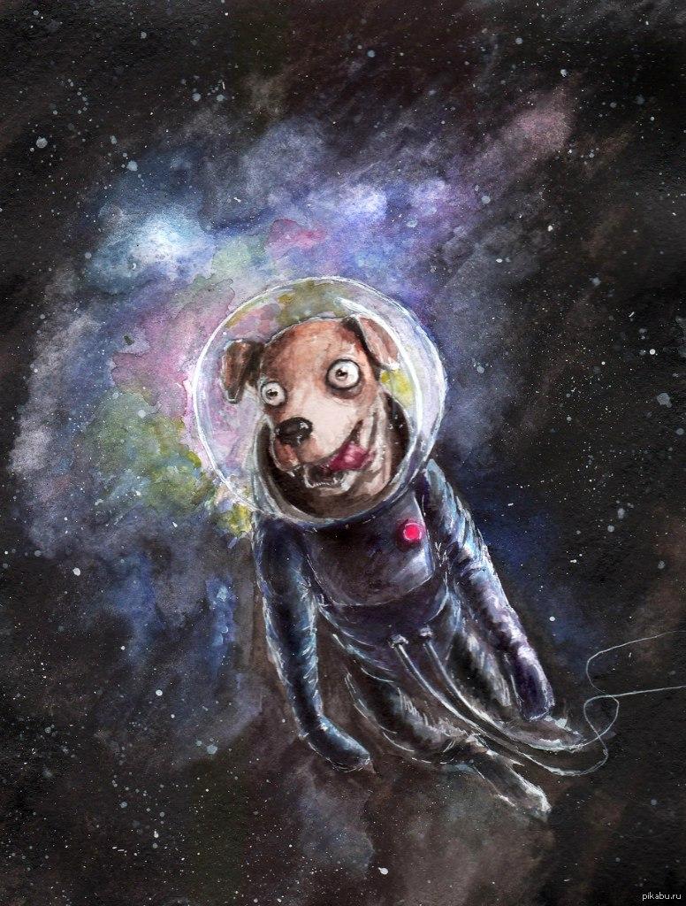 Прикольные рисунки на тему космос