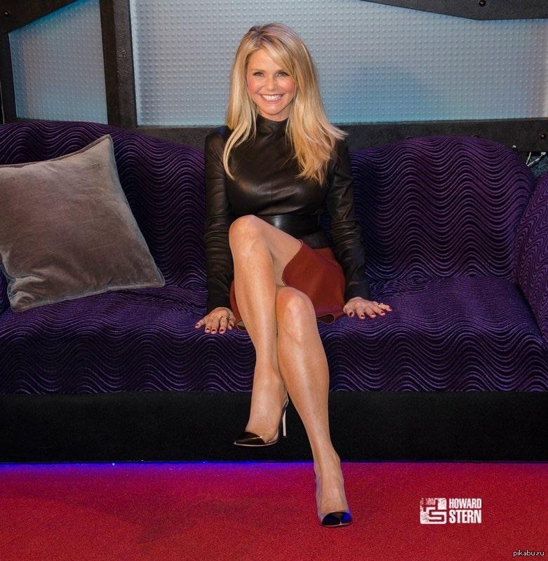 Celebrity Legs And Feet In Christie Brinkley Coedcherry 1