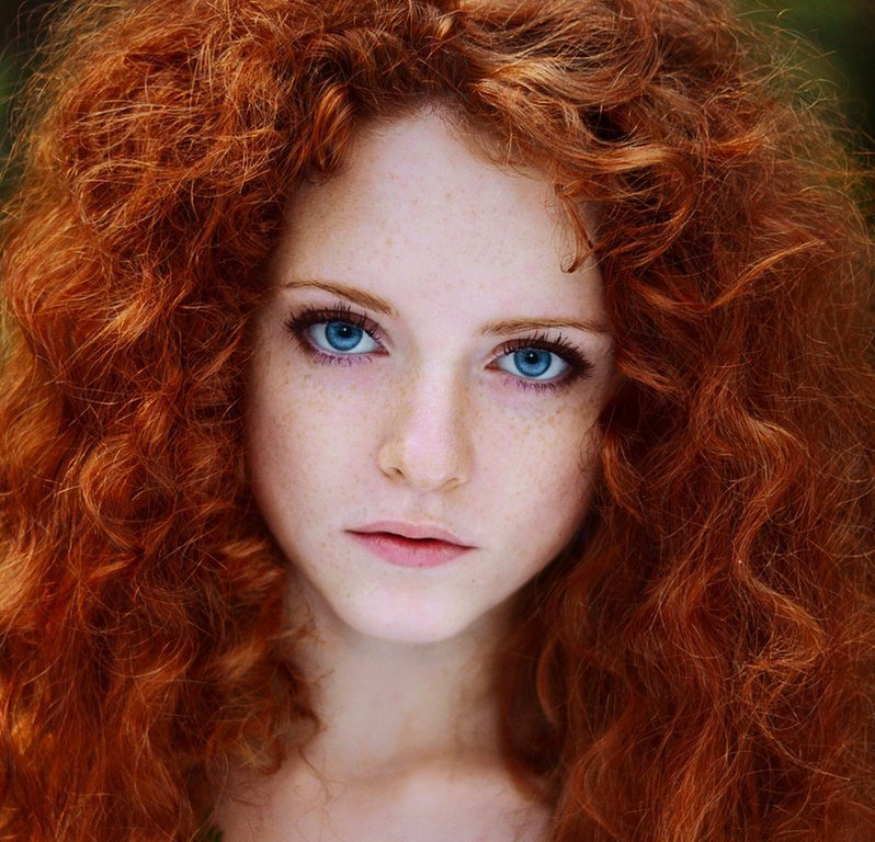 рыжие девушки. фото