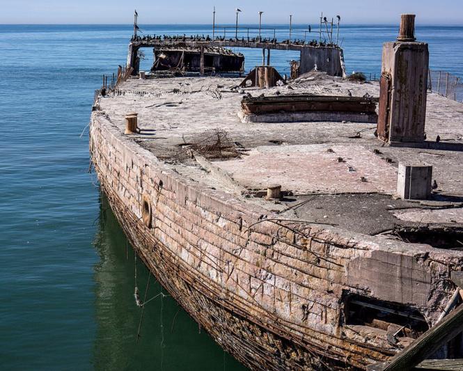 Корабли из бетона заказать миксер с бетоном в спб цена