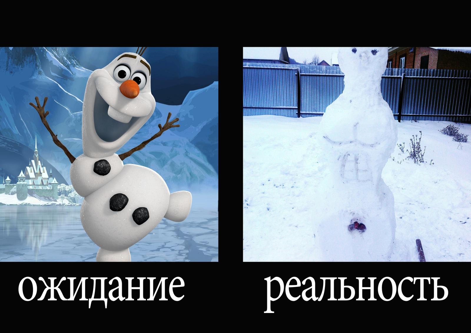 Картинки из холодного сердца снеговик