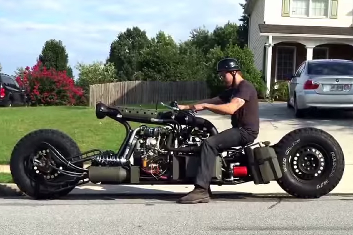 Полноприводный мотоцикл своими руками фото 507